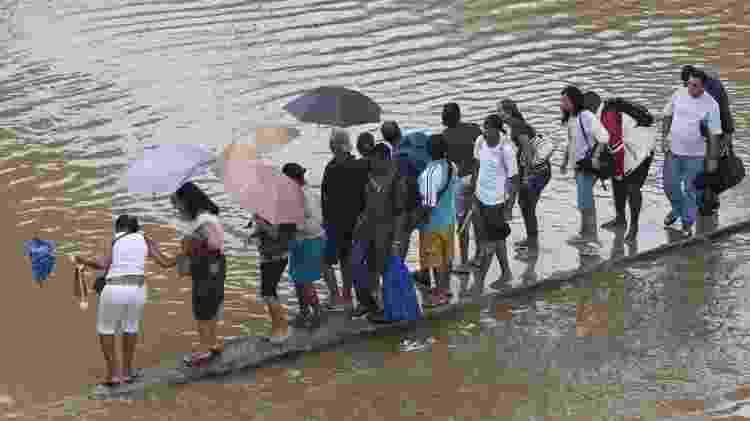 Enchente - Rafael Andrade/Folhapress - Rafael Andrade/Folhapress