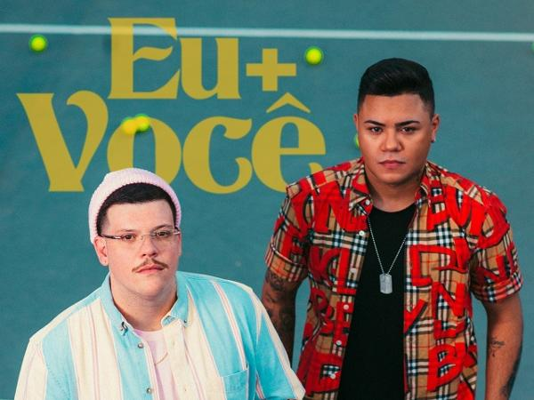 Capa do single 'Eu+Você', de Ferrugem e Felipe Araújo