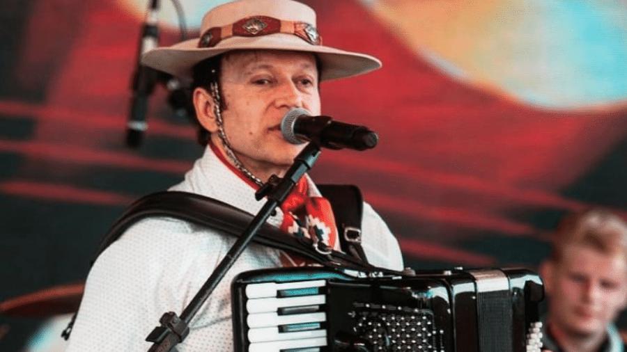 Airton Machado, da banda Garotos de Ouro - Reprodução / Instagram