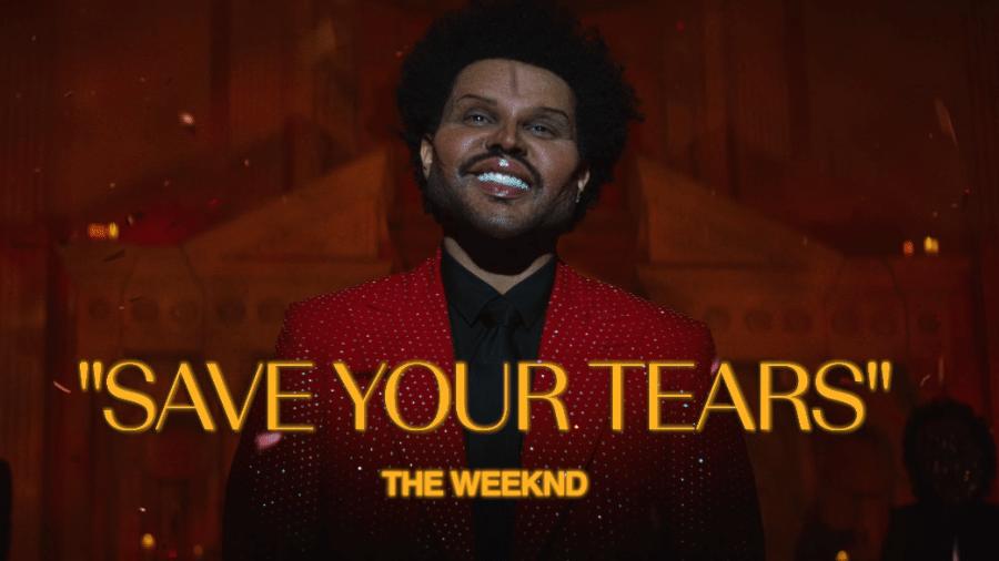 """Cena do clipe de """"Save Your Tears"""", do The Weeknd - Reprodução / Youtube"""