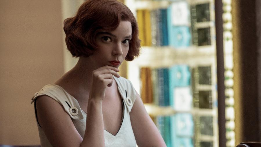 "Beth Harmon (Anya Taylor-Joy), de ""O Gambito da Rainha"" - Phil Bray/Netflix"
