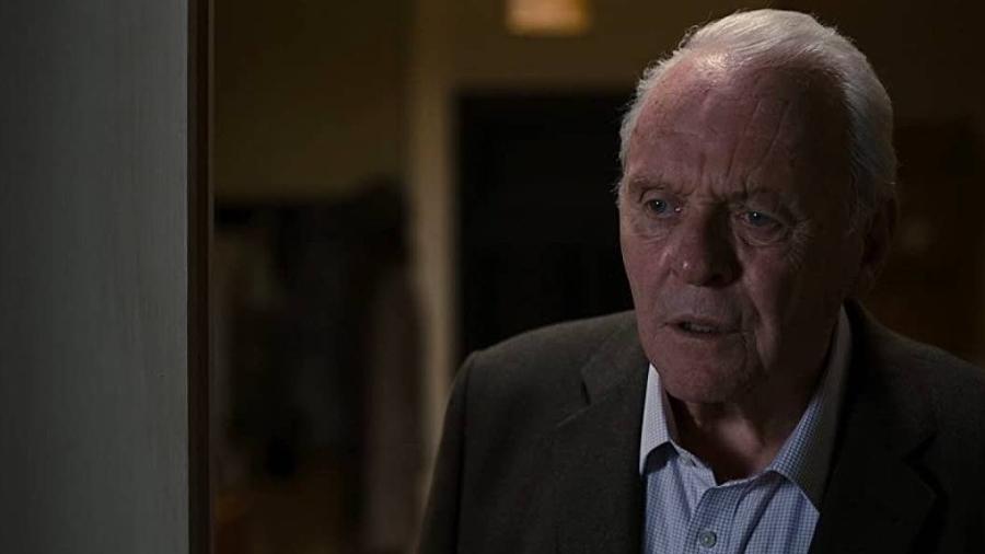 """Anthony Hopkins em cena do filme """"Meu Pai"""", pelo qual venceu o Oscar - Divulgação"""