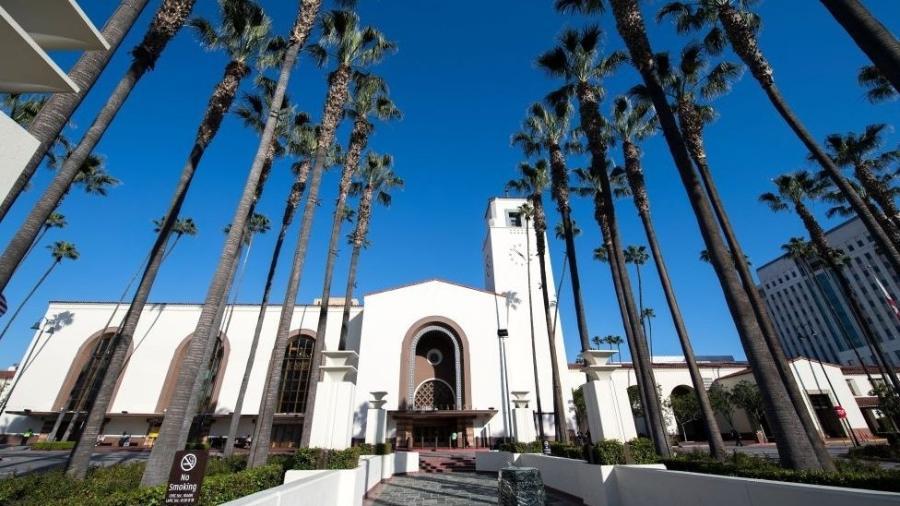 A Union Station, em Los Angeles, será um dos palcos do Oscar deste ano - AFP