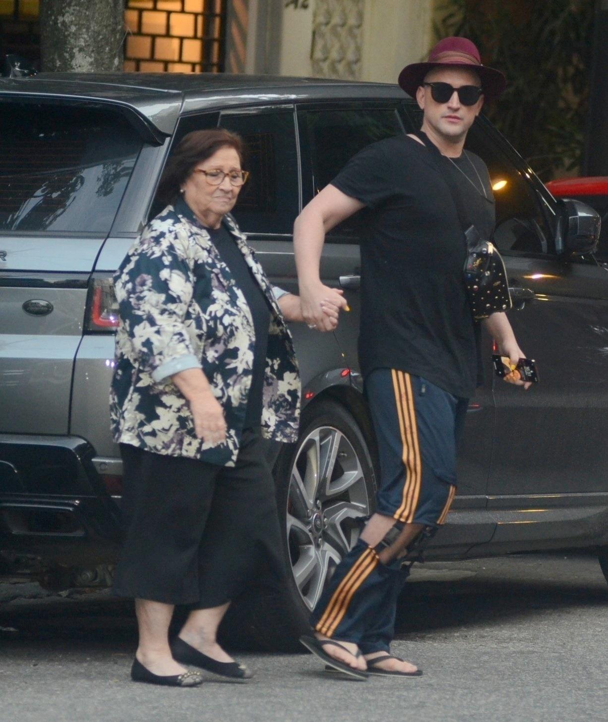 Paulo Gustavo e sua madre, Dia Lucia Vieira Amaral - AG NEWS
