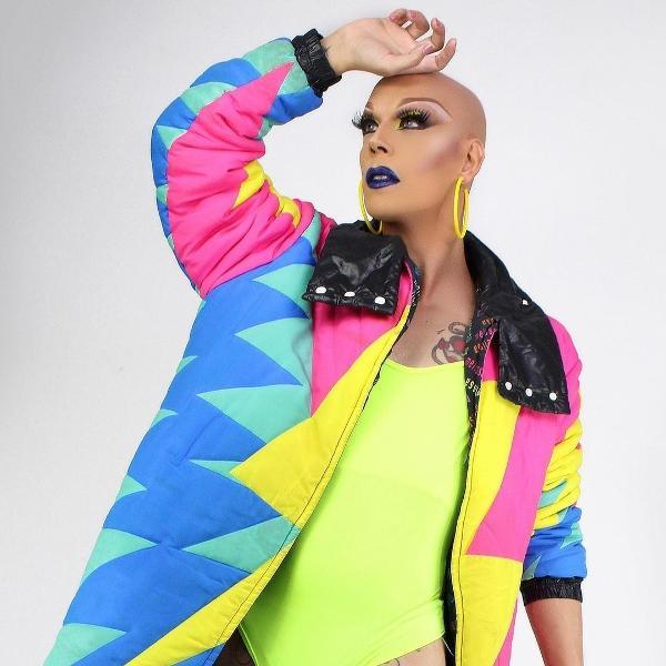 A drag queen Ikaro Kadoshi