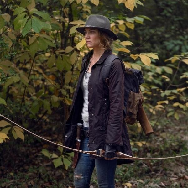 Maggie (Lauren Cohan) em cena da décima temporada de 'The Walking Dead'