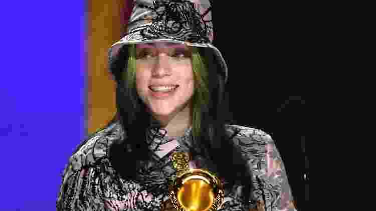 Billie Eilish venceu o Grammy de gravação do ano com sua música 'Everything I Wanted' - Kevin Winter/Getty Images - Kevin Winter/Getty Images