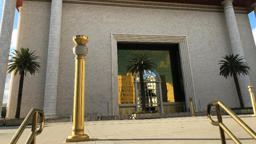 Enquanto o STF não termina o julgamento, seguem os cultos no Templo de Salomão, em São Paulo - Felipe Pereira