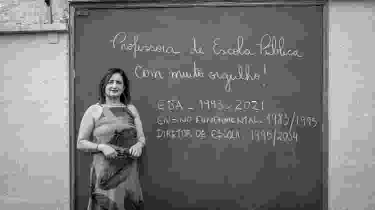 TAB Trombadas - a professora Eliani Andrade - Christian Carvalho Cruz/UOL - Christian Carvalho Cruz/UOL