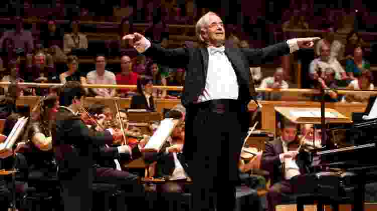 O maestro Joao Carlos Martins e a Orquestra Bachiana Filarmônica  - Fernando Mucci - Fernando Mucci