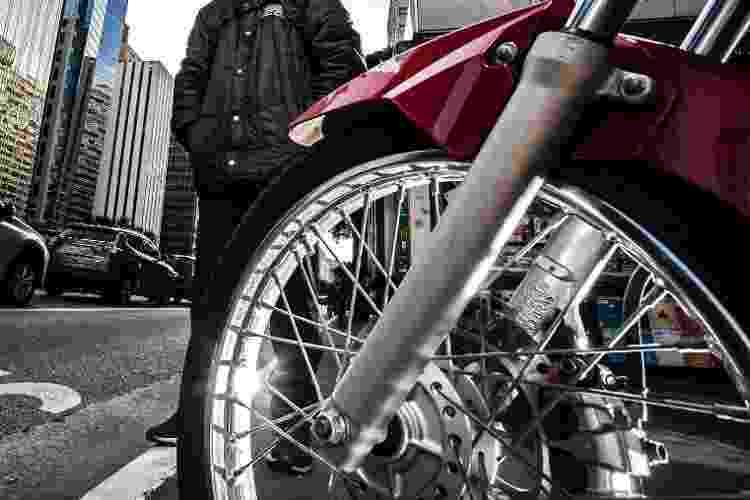 Diego, o motoboy - Fernando Moraes/UOL - Fernando Moraes/UOL