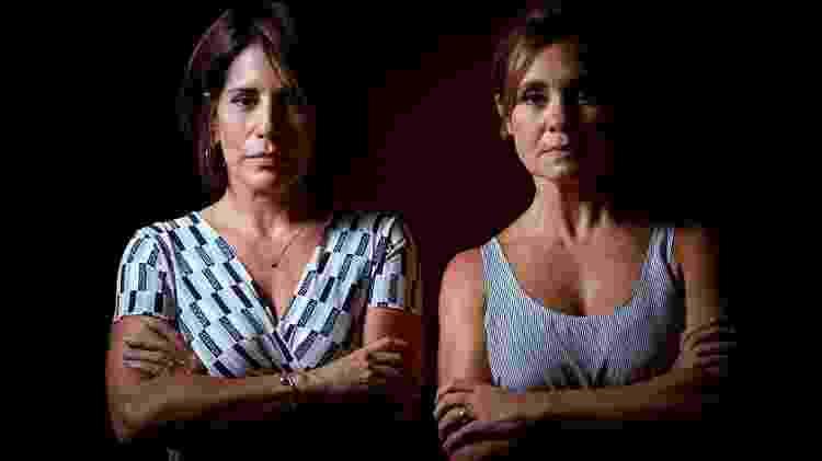 Gloria Pires e Adriana Esteves deram vida a duas grandes vilãs da telenovela: Maria de Fátima e Carminha - Daniel Marenco/Folhapress
