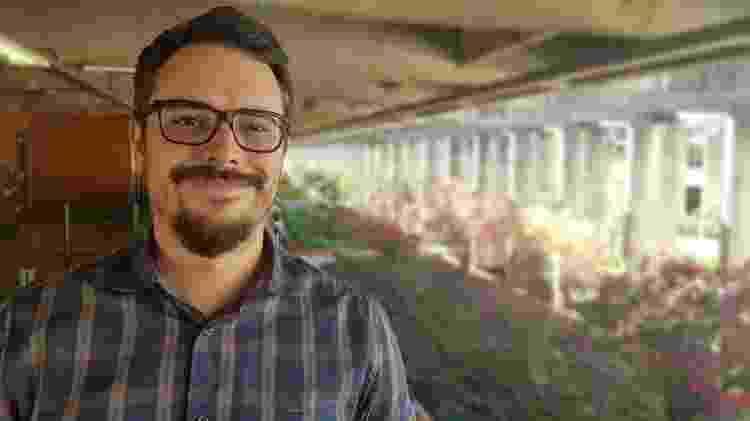 O historiador Bruno Leal, professor da Universidade de Brasília - Arquivo pessoal - Arquivo pessoal