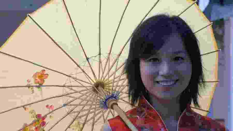 A chinesa Si Liao, criadora do canal Pula Muralha - Divulgação