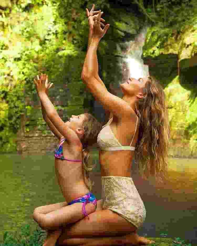 Há anos, Gisele Bündchen é praticante de ioga e meditação - Arquivo Pessoal/Instagram - Arquivo Pessoal/Instagram