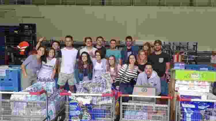 Grupo de brasileiros organiza doações para vítimas dos incêndios na Austrália - Debora Komukai/UOL