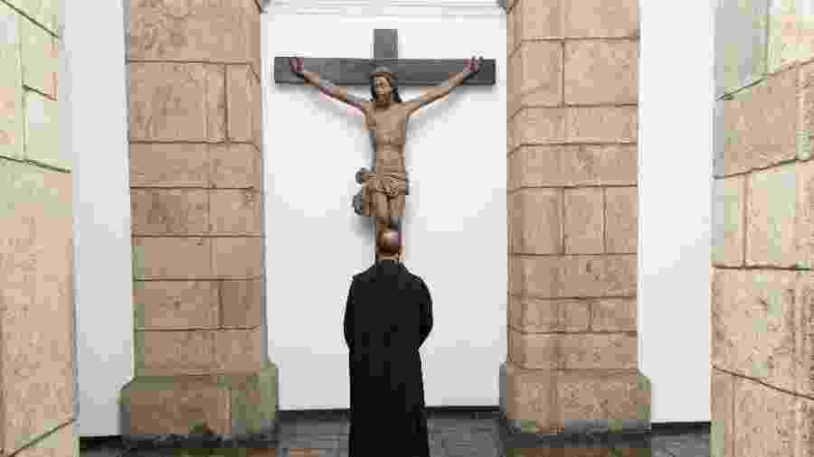 Mosteiro de São Bento, no Rio de Janeiro, onde 31 monges vivem enclausurados  - Lidi Cutrim