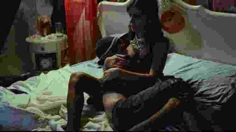Pixote e Sueli em uma dos momentos mais marcantes do filme - Reprodução - Reprodução