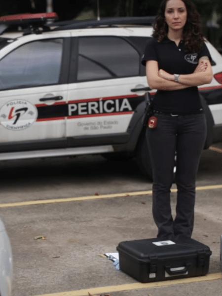 A perita criminal Maria Paula Valadares atende locais de crimes na capital paulista há mais de dez anos - Reprodução/SSP