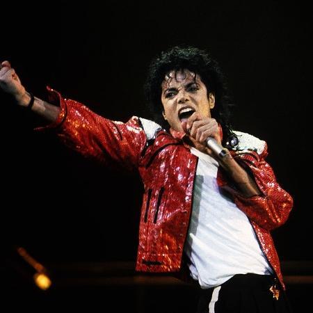 Michael Jackson, em show de 1986, em Nova York - Kevin Mazur/WireImage/Getty