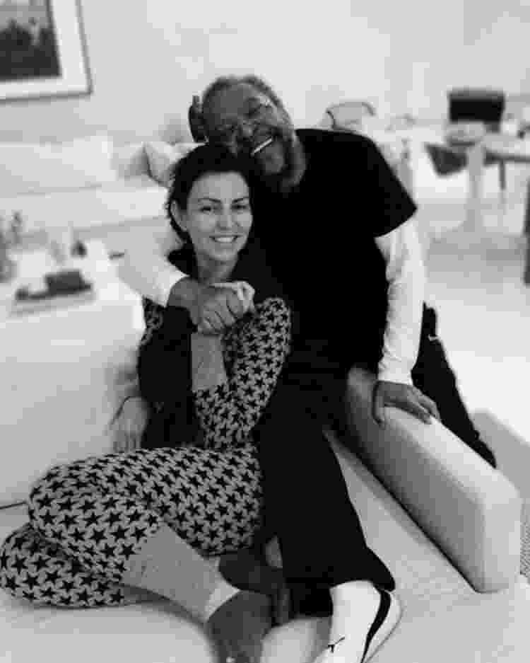 Martinho da Vila e sua mulher, Cleo Ferreira - Arquivo pessoal - Arquivo pessoal