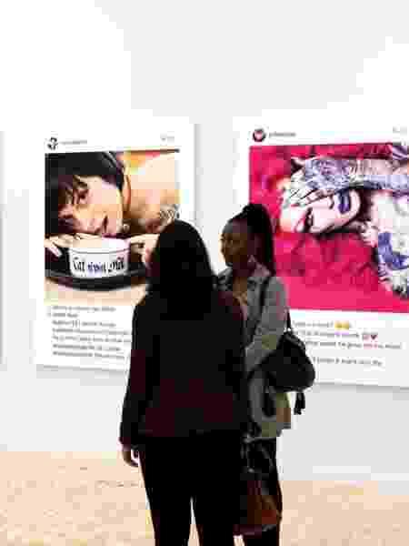 Artista Richard Prince criou telas com posts do Instagram e iniciou a discussão: Somos donos das nossas próprias postagens? - Marco Scozzaro/Frieze