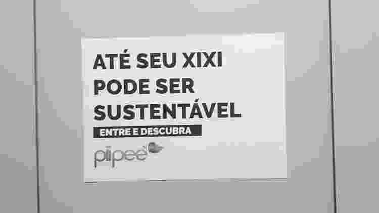Banheiro da Case 2019, evento de startups em São Paulo - Daniel Lisboa/UOL