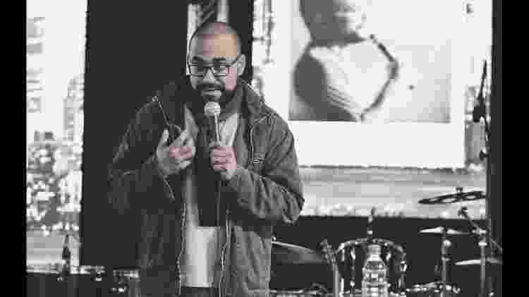 O pregador católico Hugo Santos, ex-integrante da comunidade Colo de Deus - Reprodução/ Youtube - Reprodução/ Youtube