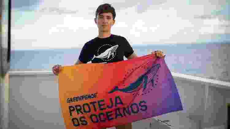 Fernanda Ligabue no Arctic Sunrise - Laurel Chor/Greenpeace - Laurel Chor/Greenpeace