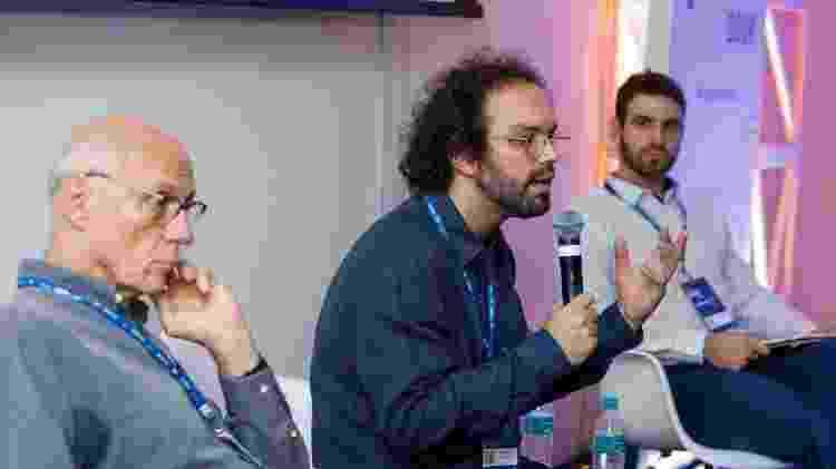 Leandro Ferreira no Festival Path defende a Renda Básica Universal - Marcelo Justo/UOL