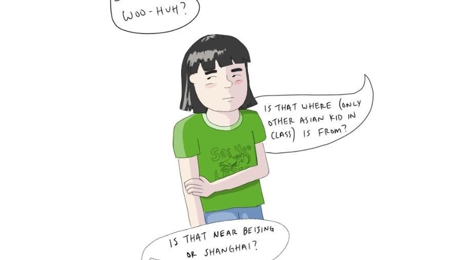 Laura Gao em autorretrato: Frustrada por ninguém conhecer Wuhan - Laura Gao