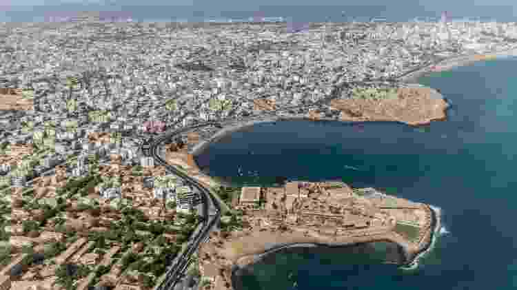 Vista aérea de Dakar, no Senegal - Getty Images/iStockphoto - Getty Images/iStockphoto