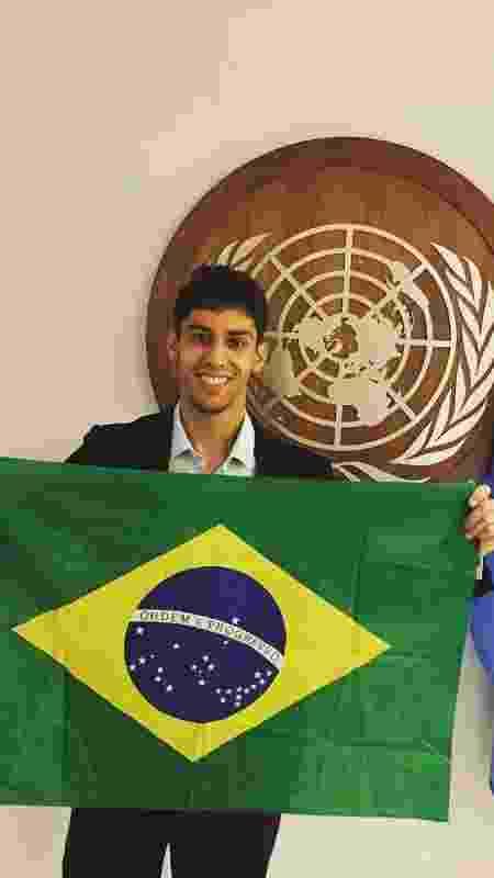 Rafael Mourão Drumond, 27, coordenador nacional do Acredito, se aproximou da política após as manifestações de 2013 - Rafael Mourão Drumond/Acervo pessoal - Rafael Mourão Drumond/Acervo pessoal