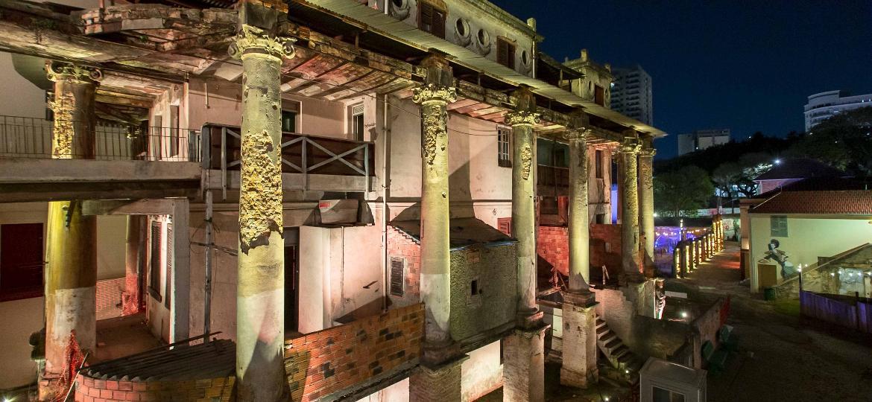 Vila Itororó, no bairro da Bela Vista, em São Paulo, reabriu ao público em 10 de setembro - Adriano Vizoni/Folhapress