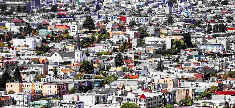 Vista aérea de São Francisco, na Califórnia, Estados Unidos - Getty Images