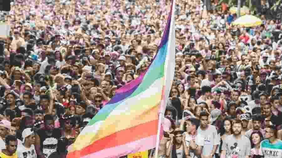 Meu Santo é no Pop em 2019: bloco foi um dos primeiros a arrastar jovens LGBTQ+ na retomada do Carnaval em São Paulo - Divulgação
