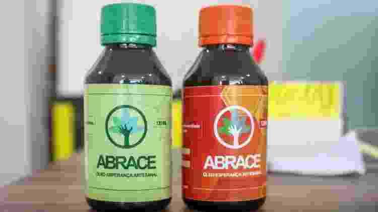 Óleos artesanais produzidos pela Abrace para o combate de doenças como a epilepsia - Ítalo Rômany/Eder Content