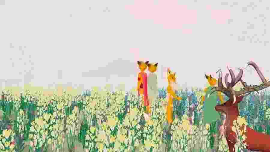 """Cena da animação em tempo real """"Sunshowers"""", um dos destaques do File 2019 - Divulgação"""