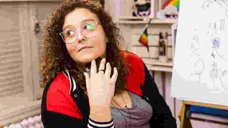 Fernanda Soares, ativista e youtuber no Canal das Bee - Arquivo pessoal