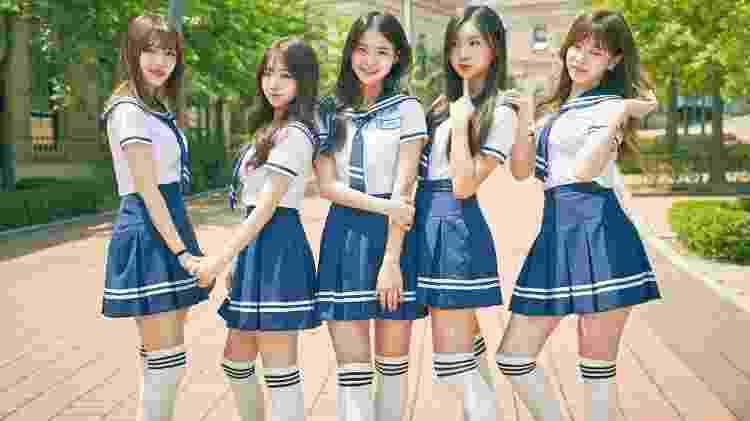 Muitas bandas de K-pop fazem referência ao visual escolar na Coreia do Sul - Reprodução