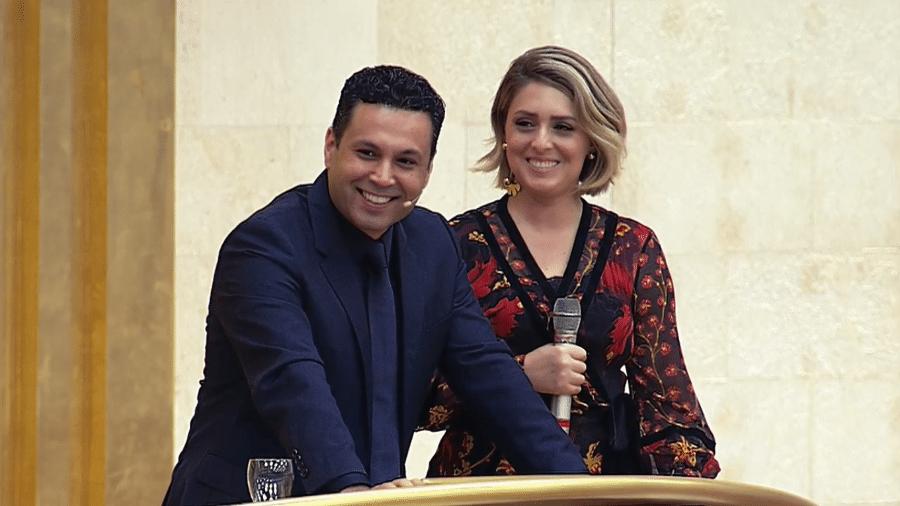 O casal Renato e Cristiane Cardoso - Igreja Universal/Reprodução