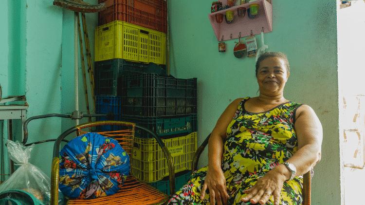 A dona de casa Cícera da Silva - Gabriel Moreira/UOL - Gabriel Moreira/UOL