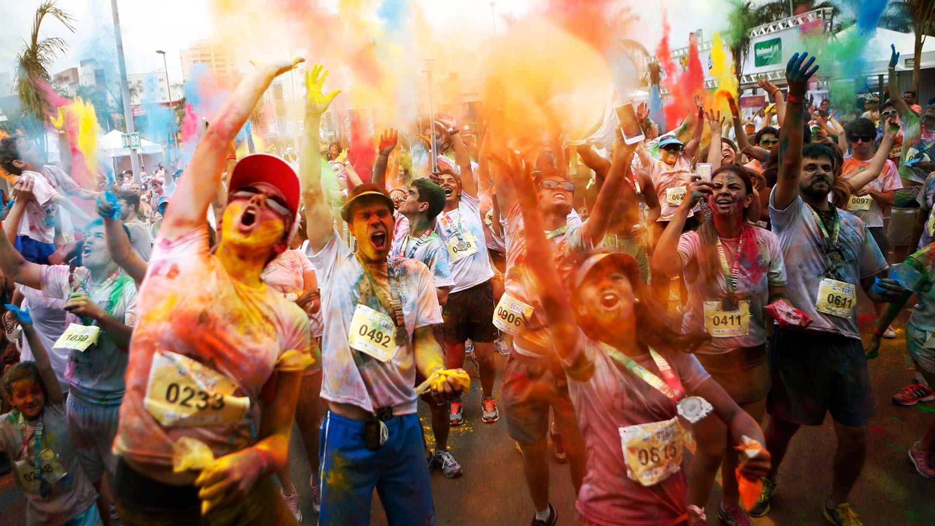 Corrida das cores
