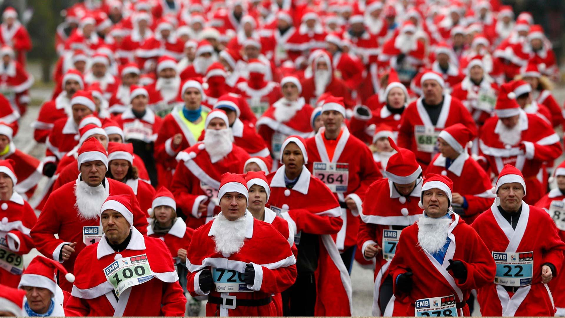 Corrida de Papai Noel
