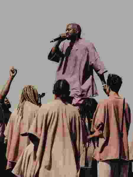 Show de Kanye West no Festival Coachella, em abril de 2019 - Rozette Rago/The New York Times