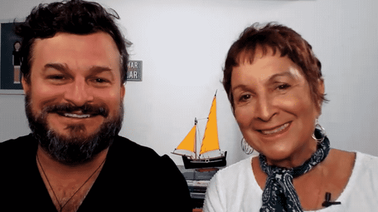 David e Heloísa Schurmann dão entrevista ao TAB por Skype - UOL