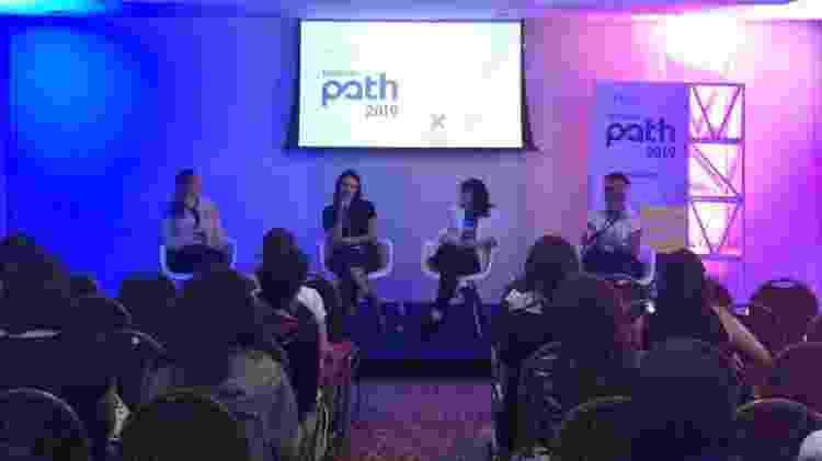 Ana Rusche, Gabriela Franco, Andreza Delgado e Julia Furrer falam sobre o futuro da mulher na ficção no Festival Path - Bianca Borges/UOL - Bianca Borges/UOL
