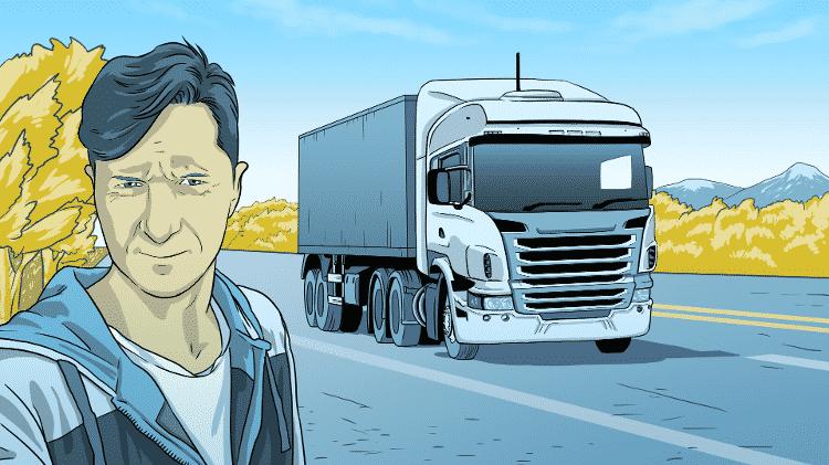 Motoristas de caminhão - Leonardo Silva/UOL - Leonardo Silva/UOL