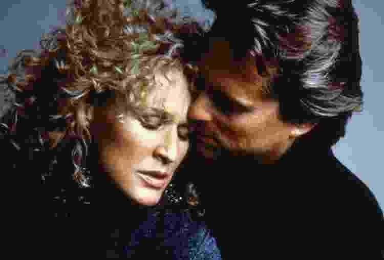 """Glenn Close e Michael Douglas em """"Atração Fatal"""" (1987) - Divulgação - Divulgação"""