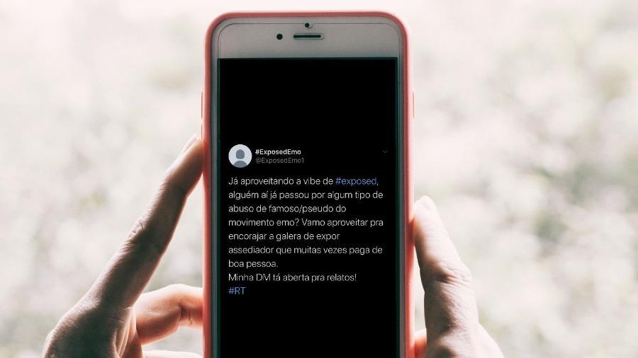 Montagem Hans Vivek/Unsplash e Twitter/ExposedEmo1